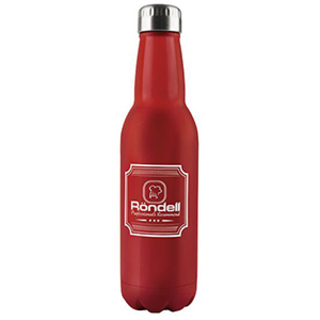 RDS-914 Термос 0,75 л Bottle Red Rondell (R)